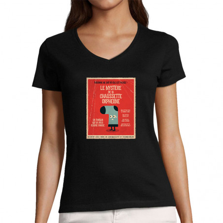 """T-shirt femme col V """"Le..."""