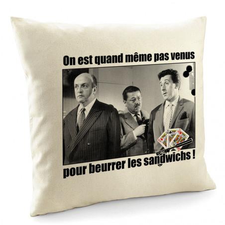 """Coussin """"Tontons Flingueurs..."""