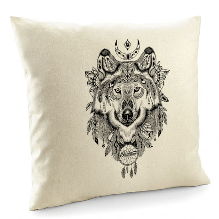 """Coussin """"Bad River - Indian..."""