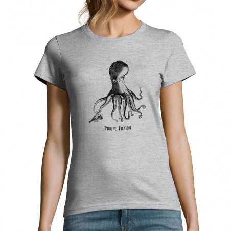 "T-shirt femme ""Poulpe Fiction"""