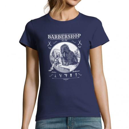 "T-shirt femme ""Barber Shop"""