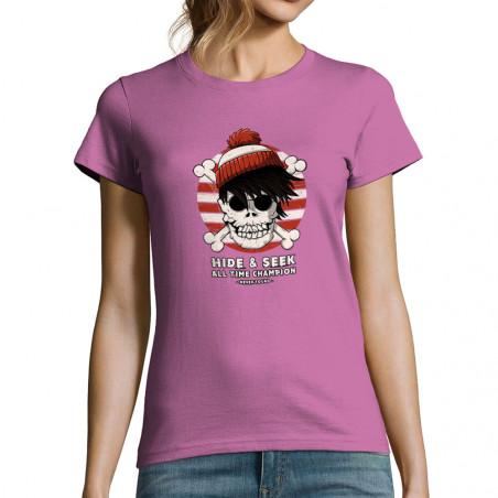 """T-shirt femme """"Charlie Skull"""""""