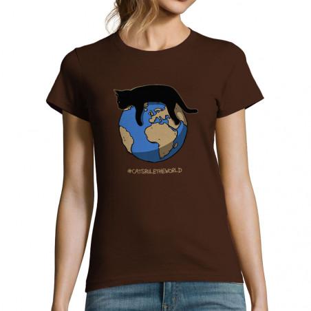 "T-shirt femme ""Maitres du..."