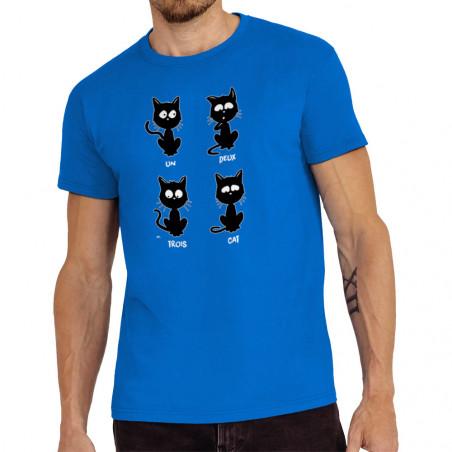 """Tee-shirt homme """"Un deux..."""