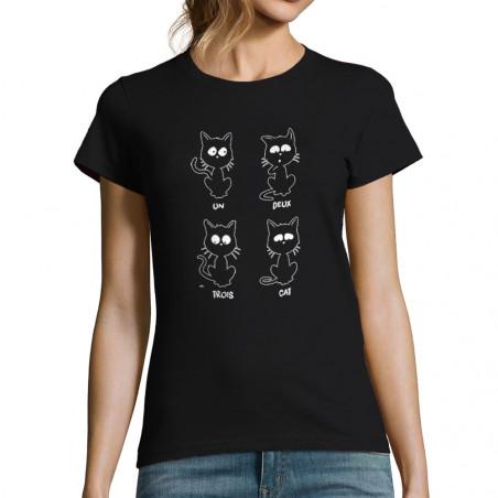 """T-shirt femme """"Un deux..."""