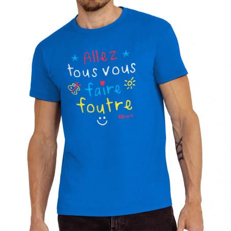 """Tee-shirt homme """"Allez tous..."""