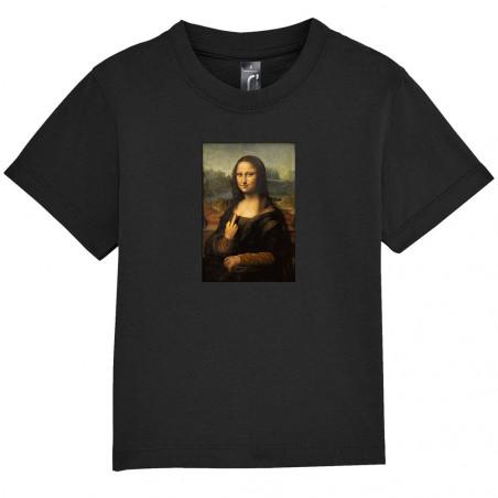 """Tee-shirt bébé """"Mona Lisa..."""