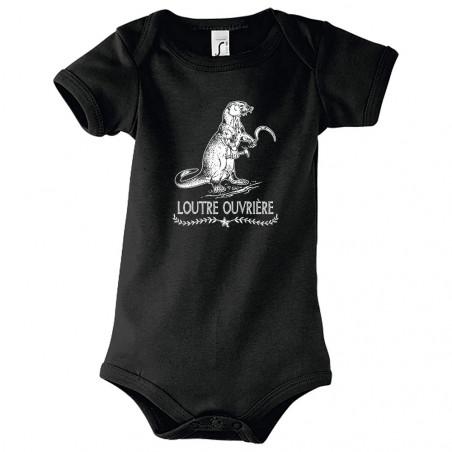 """Body bébé """"Loutre Ouvrière"""""""