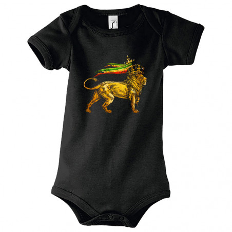 "Body bébé ""Rasta Lion"""