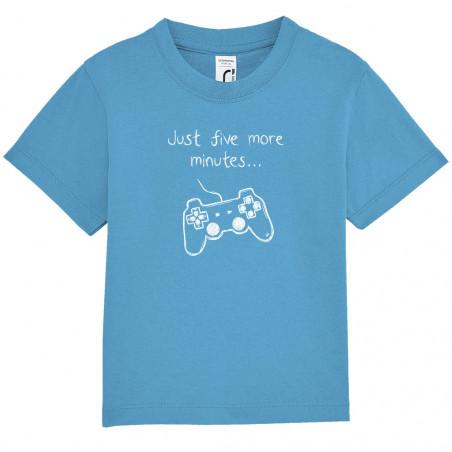 """Tee-shirt bébé """"Five more..."""