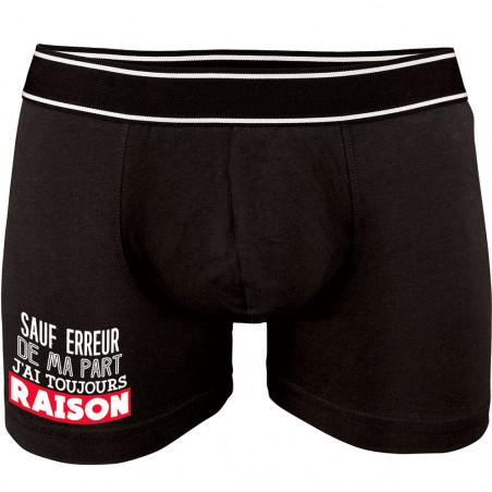 """Caleçon Boxer Homme """"J'ai..."""