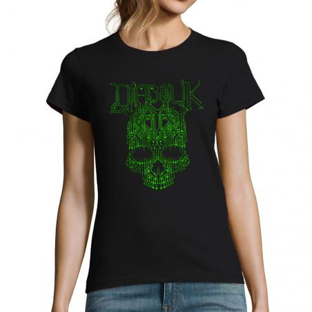 """T-shirt femme """"ElectroSkull"""""""