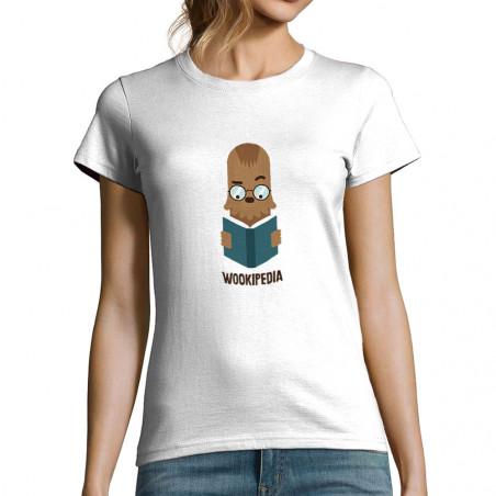 "T-shirt femme ""Wookipedia"""