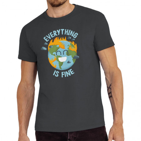 """Tee-shirt homme """"Everything..."""