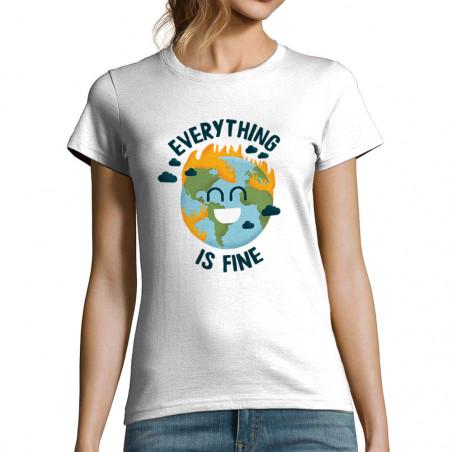 "T-shirt femme ""Everything..."