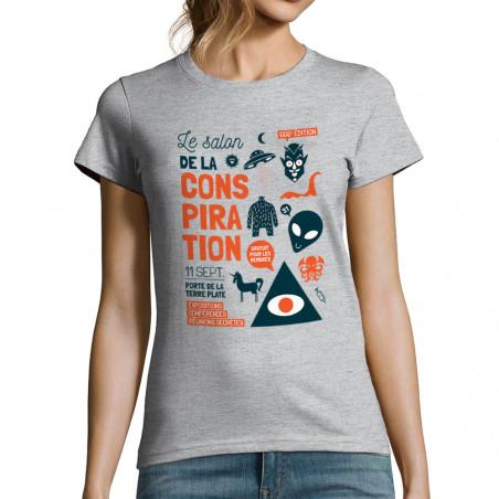 """T-shirt femme """"Conspiration"""""""