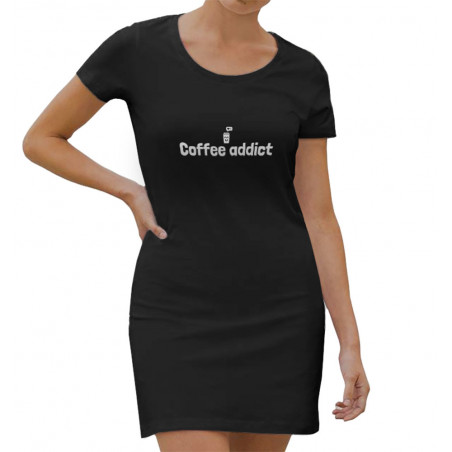 "Robe légère ""Coffee addict"""