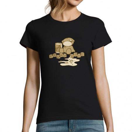 "T-shirt femme ""Teddy Beer"""