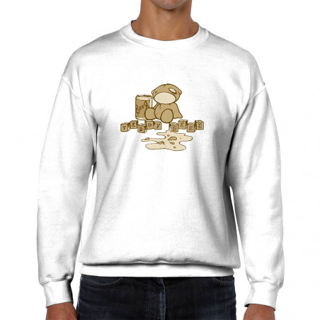 "Sweat homme col rond ""Teddy..."