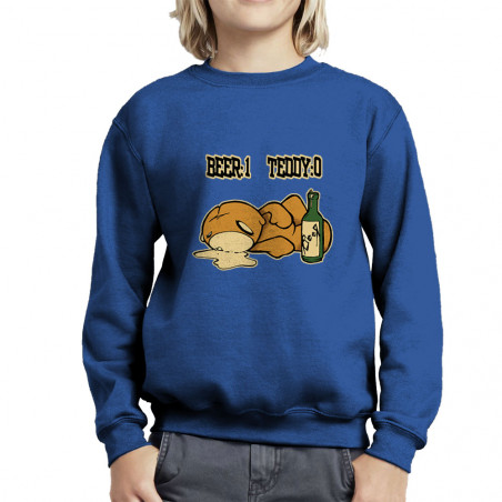 "Sweat enfant col rond ""Beer..."