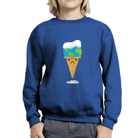 "Sweat enfant col rond ""Ice..."