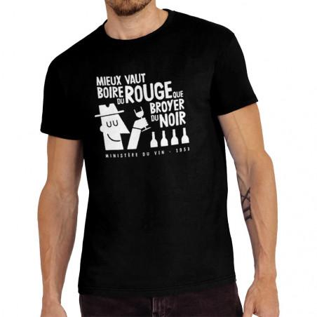 """Tee-shirt homme """"Mieux vaut..."""