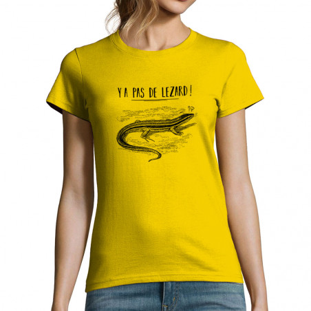 """T-shirt femme """"Y a pas de..."""