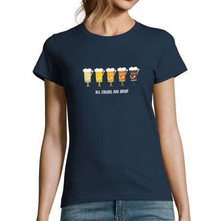 "T-shirt femme ""All Colors..."