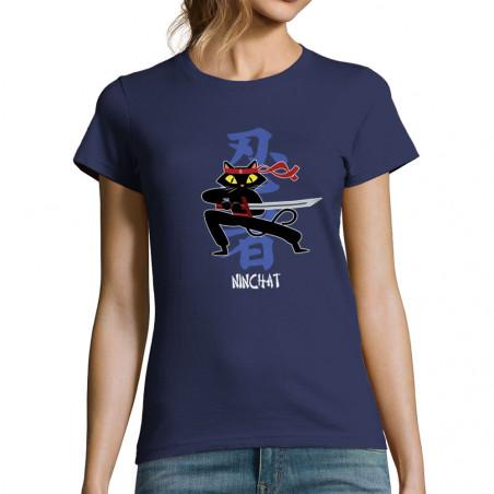 "T-shirt femme ""Ninchat"""