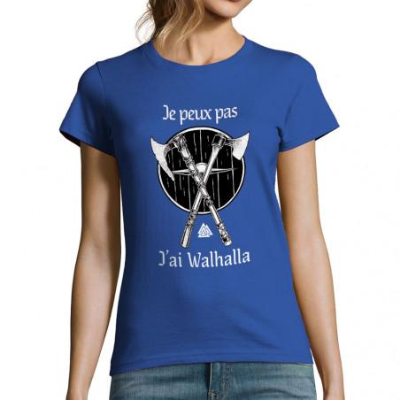 "T-shirt femme ""J'ai Walhalla"""