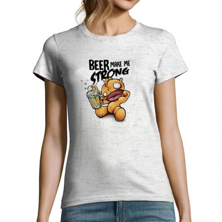 """T-shirt femme """"Beer make Me..."""