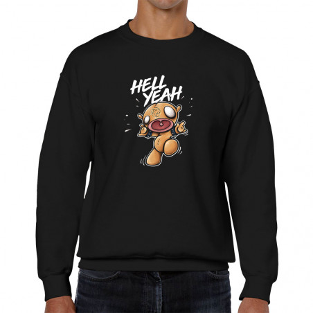 """Sweat homme col rond """"Hell..."""