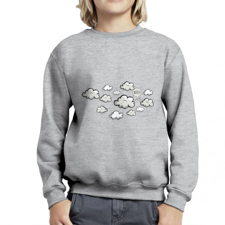 "Sweat enfant col rond ""Bééé"""