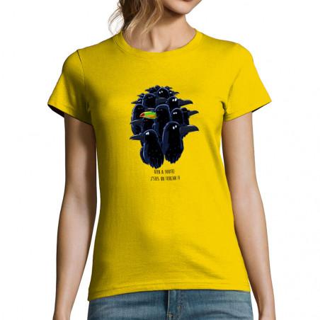 """T-shirt femme """"Je suis un..."""