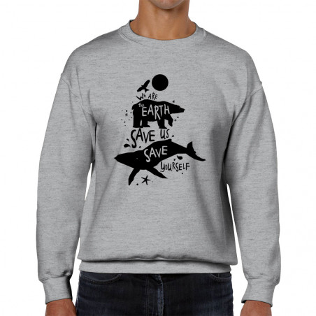 """Sweat homme col rond """"We..."""
