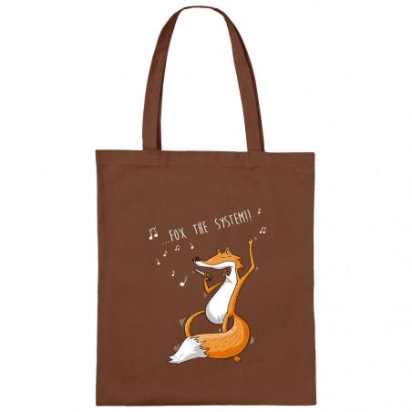 "Sac shopping en toile ""Fox..."