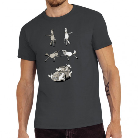 """Tee-shirt homme """"2cv Fusion"""""""