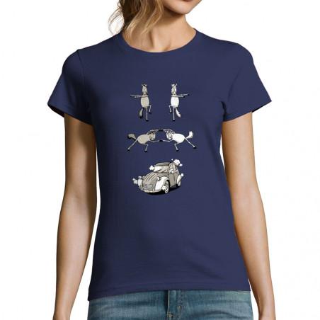 "T-shirt femme ""2cv Fusion"""