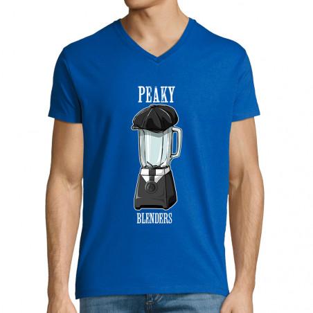 "T-shirt homme col V ""Peaky..."