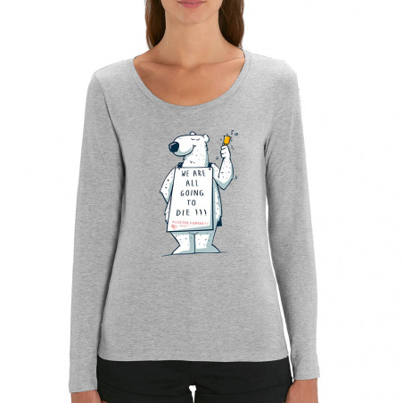 Tee-shirt femme manches...
