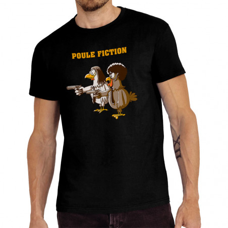 """Tee-shirt homme """"Poule..."""