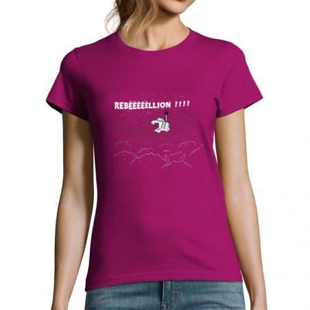 "T-shirt femme ""Rebêêêêêllion"""