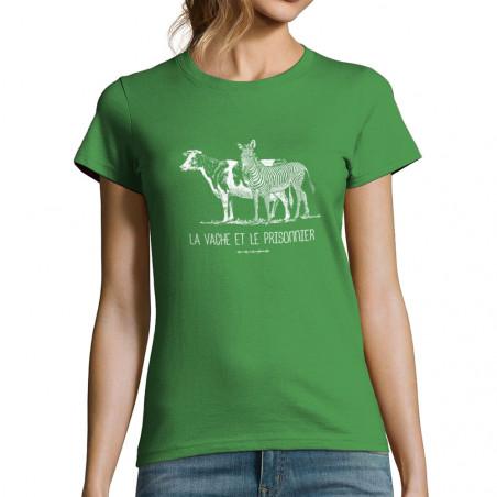 """T-shirt femme """"La vache et..."""