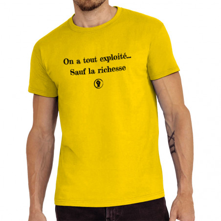 "Tee-shirt homme ""On a tout..."
