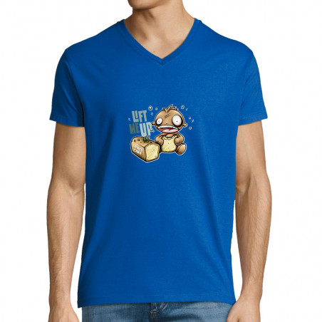 """T-shirt homme col V """"Space..."""