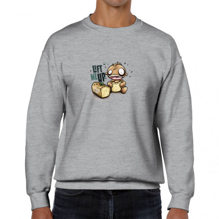 """Sweat homme col rond """"Space..."""