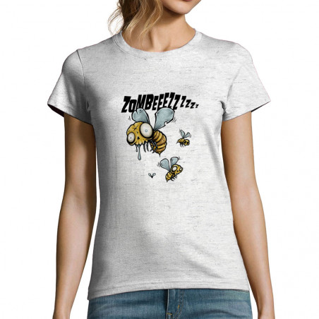 "T-shirt femme ""Zombeeezzzz"""