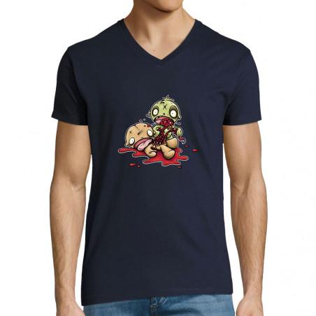 "T-shirt homme col V ""Fresh..."
