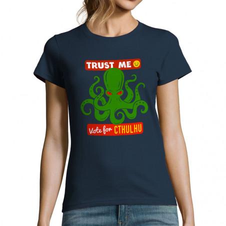 "T-shirt femme ""Vote for..."