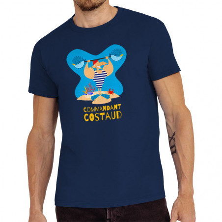 "Tee-shirt homme ""Commandant..."